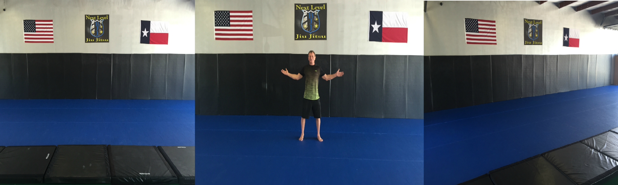 Next Level Jiu JItsu Brazilian Jiu Jitsu Mat Space