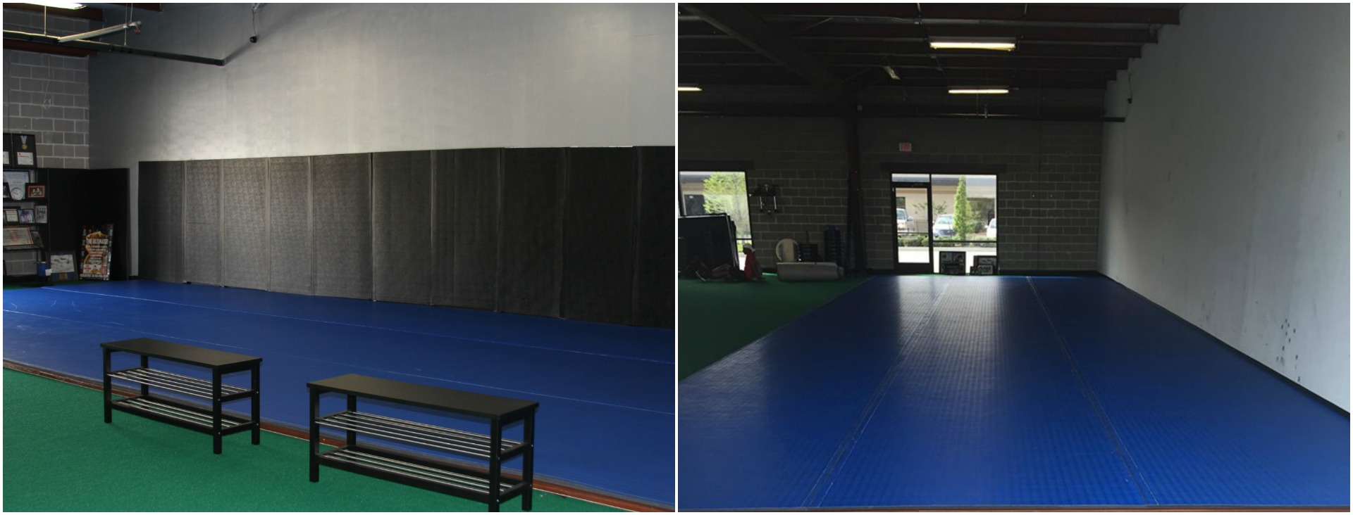 Next Level Jiu Jitsu Mat Space